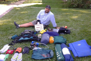 Scout Master Jared Chatterly will begin a month long trek over the Colorado Trail hiking from Denver to Durango.