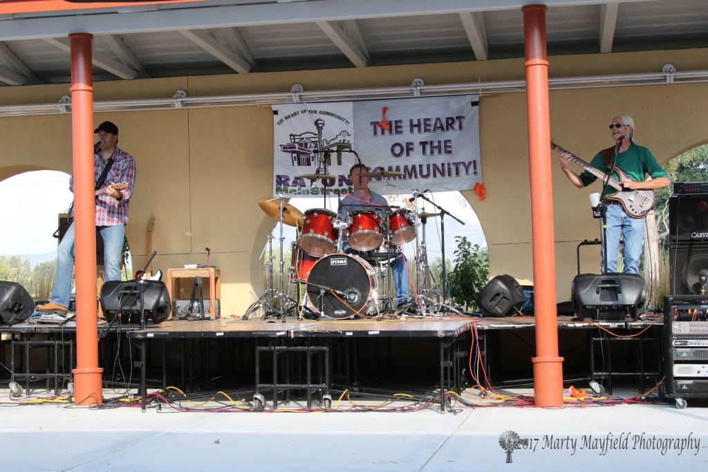 The CappTon Reid band played Saturday afternoon for the crowd at the 2017 Gate City Music Festival over the Labor Day weekend.