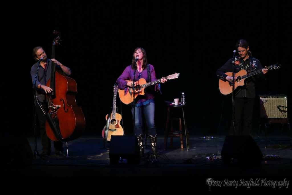 Headliner Suzy Bogguss and her band performed at the 3rd Annual Gate City Music Festival on the historic Shuler Theater stage.