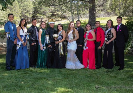 The 2017 RHS Homecoming Royalty  Gabe Martinez, Autumn Archuleta, Ethan Martinez, Camryn Mileta, King Tristen Gallegos, Queen Natausha Ortega, Camryn Stoecker, William Holland, Marklyn Pacheco, Dustin Segura, Halle Medina and Nathaniel Tarbox