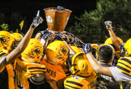 The Coal Bucket is once again in Raton as the Tigers put a whoopen on the Miners in a 46-0 win Friday night.