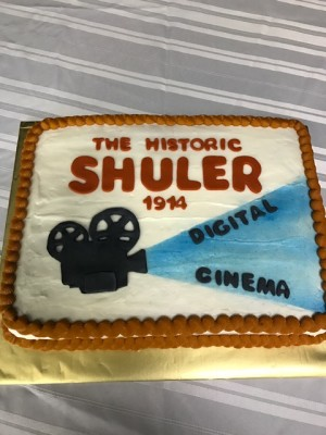 Lights, Camera, Cake!! The Shuler Digital Cinema Project cut the cake with a reception and world premiere Friday, Nov. 3