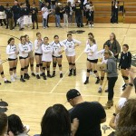 The Raton Lady Tigers came out of the Regular Season as District Champs they couldn't hold off the Desert Academy Lady Wildcats for a fourth time for the District Championship Friday night in Tiger Gym.