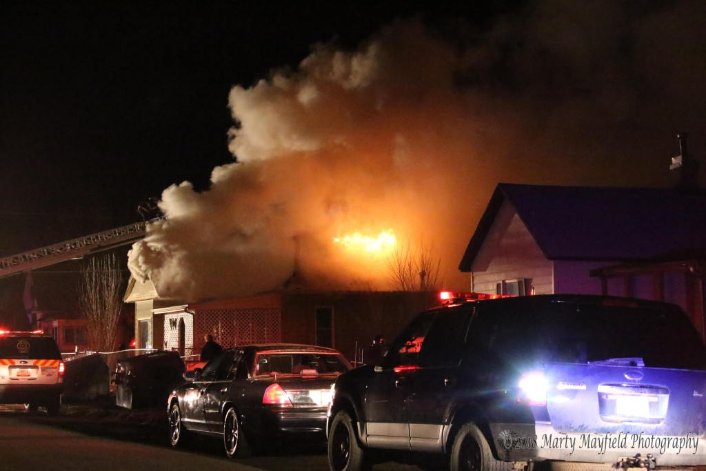 Raton Fire personnel were called to a house fire at Tinaja and North 2nd St in North Raton just after 7:00 p.m. This is the second house fire in that neighborhood in the last week.