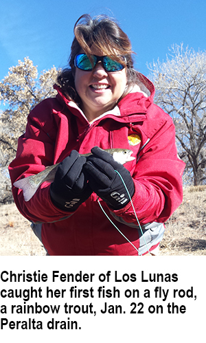 New Mexico fishing and stocking report for Jan  30, 2018