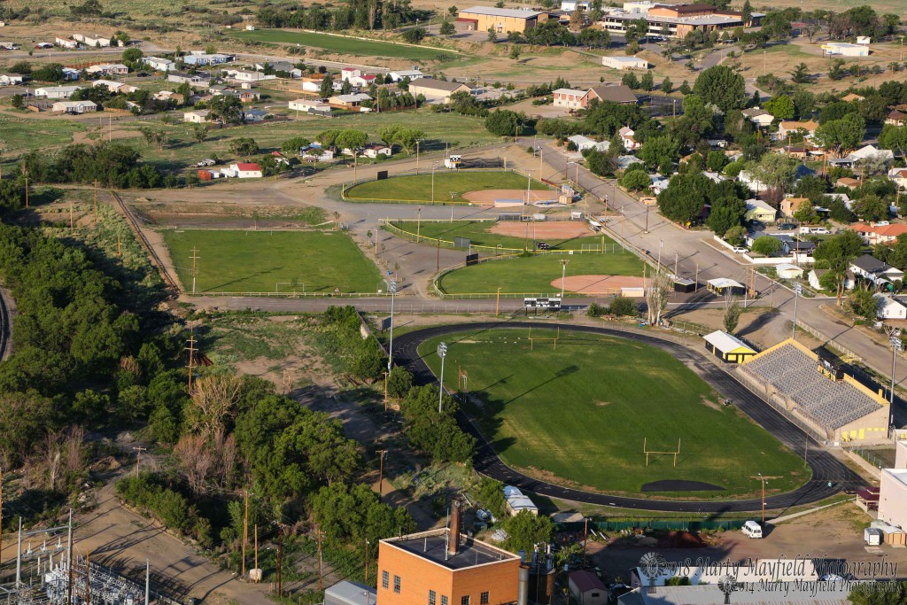 Raton's ball fields are watered with reclaimed water, another project made possible by the one cent supplemental gross receipts tax.