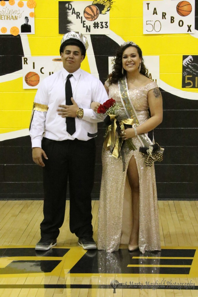 TigerFest 2018 King Rafael Maso and Queen Amanda Ramirez