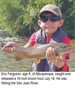 New Mexico fishing and stocking reports for July 24, 2018