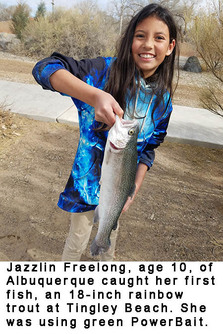 New Mexico fishing and stocking reports for March 12, 2019 – KRTN